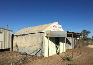 Poignant reminder of the past … Willie Mar's Fruit and Vegetable Shop and Market Garden was the longest operating Chinese market garden and shop left remaining on the edge of any Western Queensland town.
