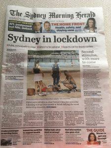 Corona headline