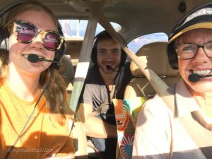 A great scenic flight to take your family or friends on.